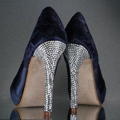Image result for crystal slider shoes