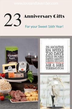 23 Anniversary Gifts for your Sweet 16th Year! | Fabulous 16th anniversary gift ideas that will let your sweetheart know you still love them as much or even more than the day you said 'I Do' Presents For Your Boyfriend, Thank You Presents, Best Anniversary Gifts, Couple Gifts, Sweet 16, Valentine Gifts, Best Gifts, Gift Ideas, Gifts For Your Boyfriend
