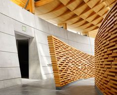 Sumptuous design in The Cathedral of Christ the Light in Oakland, CA by SOM