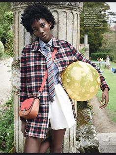 Stella Vaudran for Elle France August 2013 | Beauty Is Diverse ™