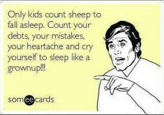 Only kids count sheep ecard - http://www.jokideo.com/