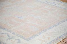 6x8 Distressed Oushak Carpet