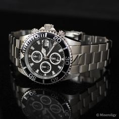 Invicta Pro Diver 43mm Black Dial Chronograph Watch