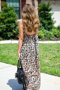 Leopard Maxi from @shopriffraff #riffrafflove - For the Love of Fancy