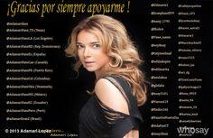"""Adamari López's photo """"Gracias por el apoyo constant...""""  on @Jose Quilisadio"""