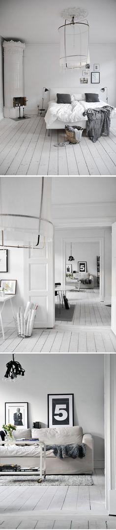 Ovanligt bra homestaging (visar rummen och ytskikten) från Alfhem, fotad av Frida.