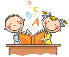 Illustration about Children reading a book together. Illustration of activities, children, together - 44606985 Kids Reading Books, Wild Animals Photos, Cat Crafts, Stick Figures, Kids Events, Free Vector Art, Drawing For Kids, Clipart, Childrens Books