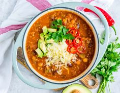 This Spicy Pumpkin Chili Will Blow Minds at the Dinner Table! - Clean Food Crush