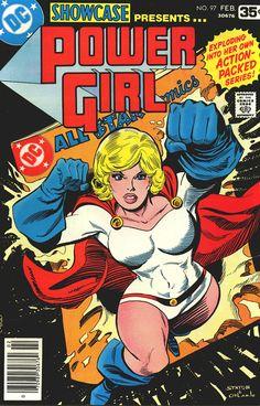 Power Girl by Joe Staton & Joe Orlando circa 1978