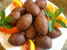 Wonderful recipe, we use pine nuts instead of walnuts (which is more common), but you can use either. Kibbeh Recipe Lebanese, Lebanese Recipes, Turkish Recipes, Armenian Recipes, Armenian Food, Palestinian Food, Egyptian Food, Creole Recipes, Arabic Food