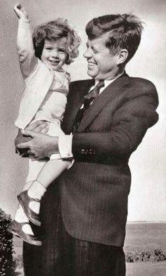 Caroline and John Kennedy