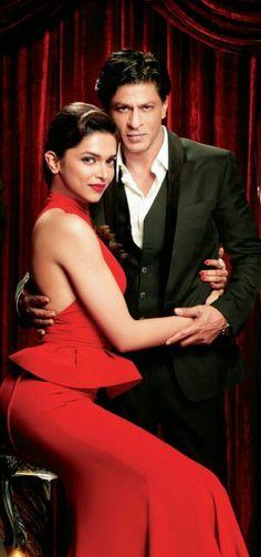 Deepika and SRK. #Bollywood #OSO #SRK #Shahrukh #Deepika