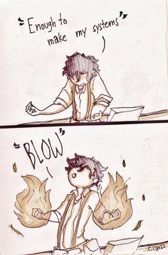 Radioactive by Imagine Dragons and Percy Jackson's Leo crossover. LOVE this!!!!!! :)