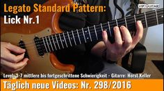 ✪ Legato Standard Pattern ►Lick Nr.1