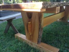 Timber frame picnic table