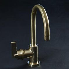 Bert and May Brass Deck Mounted Mixer Tap - Studio Ore Timber Kitchen, Brass Kitchen, Kitchen Industrial, Kitchen Redo, Kitchen Stuff, Kitchen Remodel, Kitchen Ideas, Bathroom Mixer Taps, Kitchen Mixer Taps