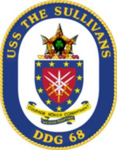 USS The Sullivans (DDG 68) ship crest