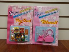 Gloria Play Food and Utensils - I have these sets.