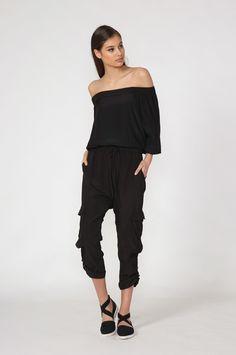 moochi fortune pant - spring 2016 COLLECTION Spring 2016, Black Pants, Jumpsuit, Product Description, Closet, Collection, Dresses, Fashion, Black Slacks
