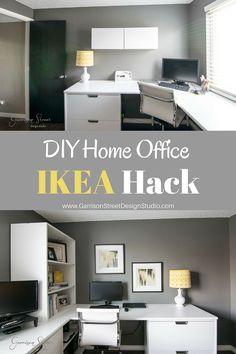 A Real Home Office   Garrison Street Design Studio