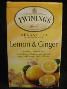 Twinings Herbal Lemon and Ginger Tea 40 Count *** Find out more about the great product at the image link. (This is an affiliate link and I receive a commission for the sales)