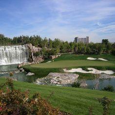 Golf Course at the Wynn Hotel Las Vegas.