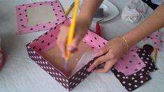 Caixas forradas p.3 Πώς να ντύσεις εσωτερικά ένα κουτί