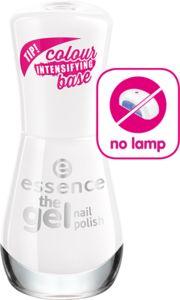 the gel nail polish 33 wild white ways - essence cosmetics