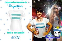 Accesorios & Moda / Remera Argentina glitter