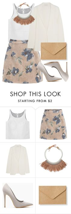 """Без названия #1990"" by catelinota-a ❤ liked on Polyvore featuring Monki, Cédric Charlier, Fiona Paxton and Muji"