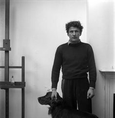 Lucian Freud by Cecil Beaton, 1956 Freud Artist, Black And White Photography, Helmut Newton, Artists And Models, Great Artists, Robert Frank, Lucian Freud, Cecil Beaton, Figure Painting