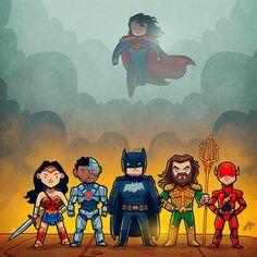 "2,761 Me gusta, 12 comentarios - Aqeel Hawaj DC (@aqeelhawaj_dc) en Instagram: ""Woow amazing Justice League fan-art by TirinhasDoRex"""