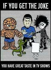 The Big Bang Theory: Rock, paper, scissors, lizard, Spock. This is amazing! Big Bang Theory Show, Big Bang Theory Funny, The Big Band Theory, Big Bang Theory Quotes, The Joke You, Nerd Humor, Cultura Pop, Geek Culture, Bigbang