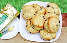 "Irish Tea Scones recipe--""adapted"" from Kerrygold butter"