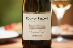 """buttery"" chardonnay at a fabulous restaurant last night: Rodney Strong Estate Chardonnay Sonoma Coast"