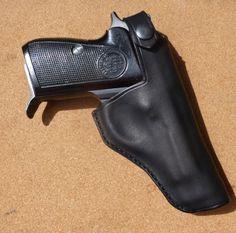 Beretta 70 / 71 holster - custom leather holster by makeitjones.co.uk