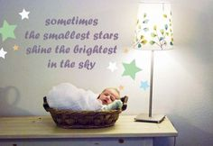 Sometimes the smallest stars shine the brightest in the sky