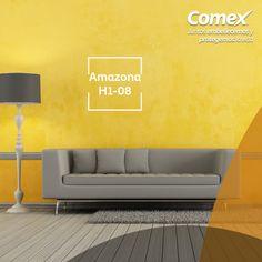 ¿Quieres dar luz y armonía a tus espacios? Prueba con el color #Amazona  #ComexPinturerías #Decoración