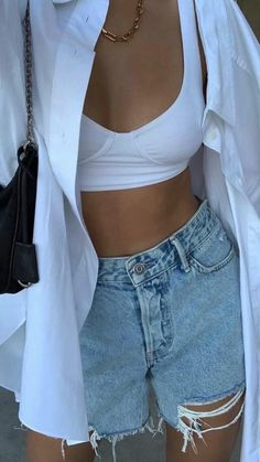 Adrette Outfits, Cute Casual Outfits, Spring Outfits, Fashion Outfits, Womens Fashion, Fashion Trends, Fashion Hair, Trendy Summer Outfits, Outfit Summer