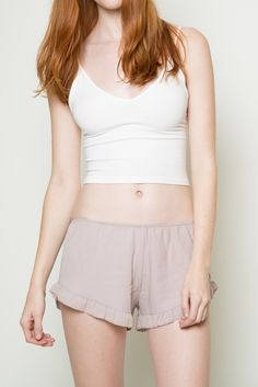 Brandy ♥ Melville | Vodi Shorts - Intimates - Clothing