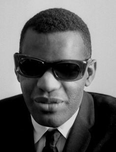 Ray Charles in Paris (May 1962); portrait by Gérald Bloncourt.