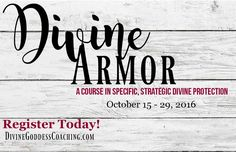 Register Today! Learn how to safely stand your spiritual ground    www.divinegoddesscoaching.com