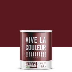 Peinture rouge foncé VIVE LA COULEUR! 0.5 l