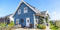 So wohnt der Norden: Evis Schwedenhaus - Förde Fräulein skandinavisch, skandi-look, scandi, weiß, blau, IKEA, Interior, Wohnen, einrichtung