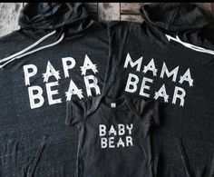 Family Bundle Hoodies and Onesie