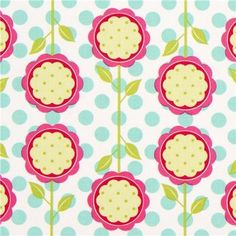 Michael Miller fabric Mod Blooms pink flowers by Patty Young (per 0.5m multiple) by Michael Miller, http://www.amazon.com/dp/B009UQB4TG/ref=cm_sw_r_pi_dp_oF4.qb1SCJY0R