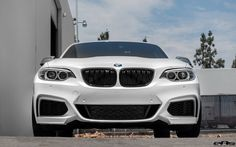 #BMW #F22 #M235i #Coupe #AlpineWhite #eAs #Tuning #Angel #Provocative #Sexy #Hot…