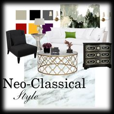 """Neo-Classical Style"" by shaunna-1 on Polyvore"