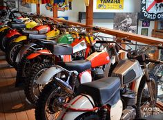Vintage CZ, Bultaco, Maico, Penton, Yamaha, Amex, Rokon and Can-Am at the Early Years of Motocross Museum.