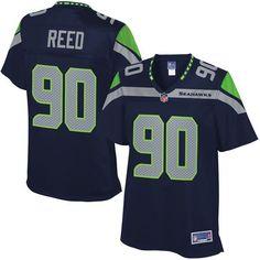 38470ed0e86f7 Jarran Reed Seattle Seahawks NFL Pro Line Women s Player Jersey - College  Navy -  99.99 NFL